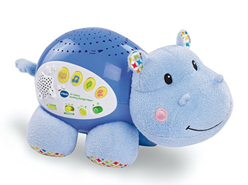 Lil Critters Soothing Starlight Hippo Baby Music Sleep
