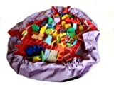 Toyzbag Lego Bag And Playmat In One - 120Cm Diameter