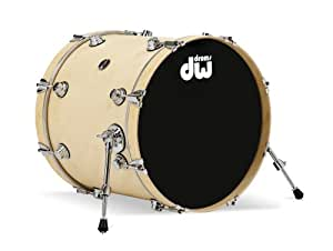 dw drums eco x kick drum 18x20 natural bamboo finish musical instruments. Black Bedroom Furniture Sets. Home Design Ideas