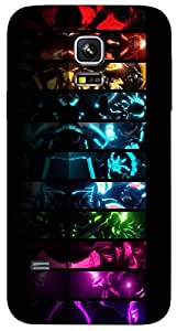 Timpax protective Armor Hard Bumper Back Case Cover. Multicolor printed on 3 Dimensional case with latest & finest graphic design art. Compatible with Samsung Galaxy S-5-Mini Design No : TDZ-27360