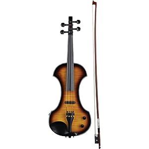 Fender FV-3 Deluxe Acoustic-Electric Violin - Sunburst Ebony