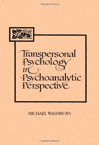 Transpersonal Psychology In Psychoanalytic Perspective (Suny Series In The Philosophy Of Psychology) (Suny Series, Philosophy Of Psychology) front-547948