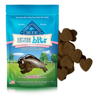 Blue Buffalo BLUE Bits Savory Salmon Natural Soft-Moist Training Treats