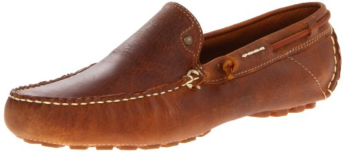 JD Fisk Men's Fuller Slip-On Loafer,TAN Leather, 11 M US