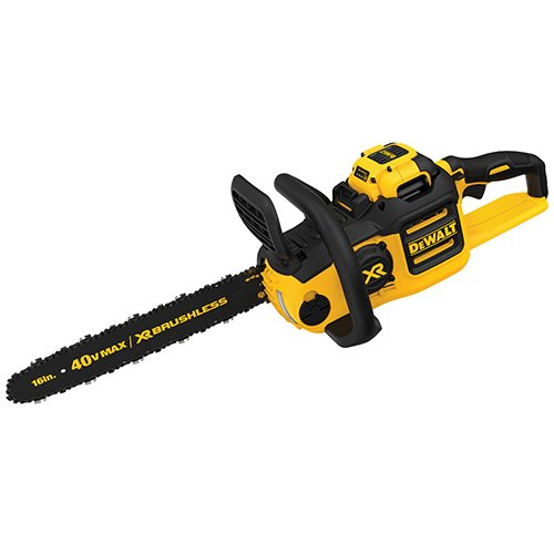 8. DEWALT DCCS690H1 40V 6AH Lithium Ion XR Brushless Chainsaw