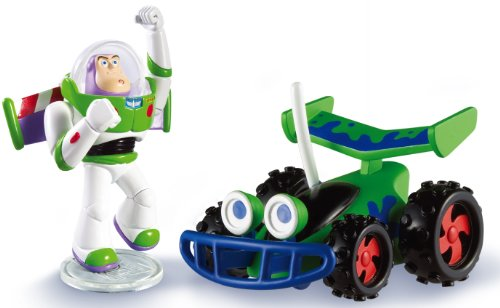 Disney Pixar Toy Story Buddy Pack, (Flying Buzz Lightyear and RC) - 1
