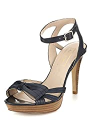 Autograph Leather Half Bow Sandals with Insolia®