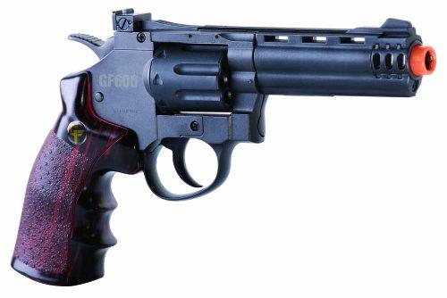 GameFace ACG357 Crosman GF600 357 Revolver CO2 Powered Semi Auto 8-Shot Airsoft Revolver (Crosman Semi Auto Air Pistol compare prices)