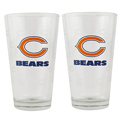 Boelter Boelter Pint Glass 2-Pack - Chicago Bears