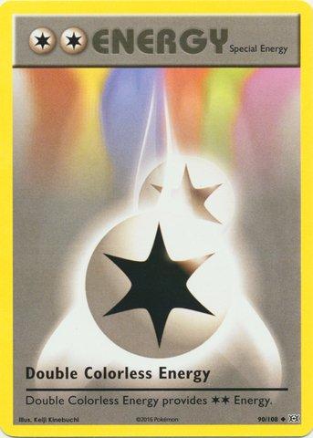 Pokemon - Double Colorless Energy (90/108) - XY Evolutions (Pokemon Double Colorless Energy compare prices)