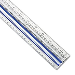"Westcott Data Processing Magnifying Ruler, 9"" Long ACM40719"