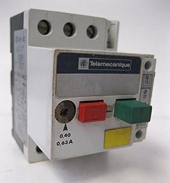 Telemecanique Manual Motor Starter Protector Gv1 M04 0 4 0