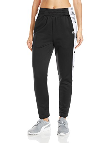 PUMA Women's T7 Pop up Pants, Puma Black, Small
