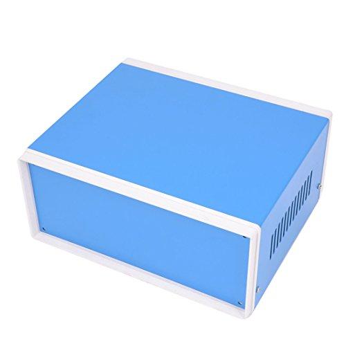 195Mm X 165Mm X 90Mm Blue Metal Enclosure Case Diy Power Junction Box