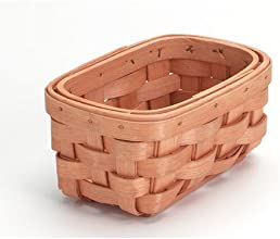 Bulk Buy Darice DIY Crafts Wood Country Basket Rectangle 475 x 35 inches 12-Pack 2848-26