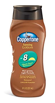 Coppertone Tanning Lotion, Non-greasy…