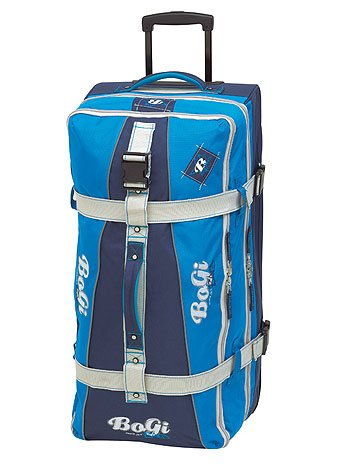 Bogi Bag Trolley Reisetasche in dunkelblau/blau