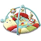 Little Bird Told Me Softly Snail Snuggle Time Playmat & Gym