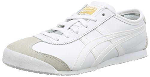 Onistuka Tiger Mexico 66, Unisex-Erwachsene Sneakers, Weiß (white/white 0101), 43.5 EU thumbnail