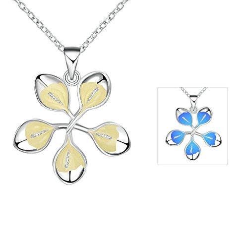 anazoz-joyeria-de-moda-chapado-en-plata-collar-de-mujer-treboles-de-5-hojas-azul-oscuro-luminoso-col