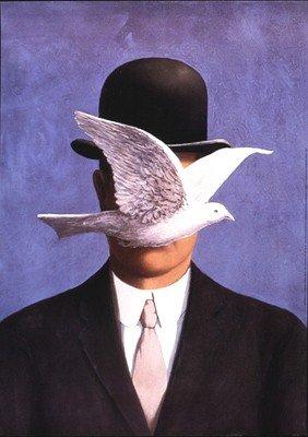 Oeuvres surr alistes for Rene magritte le faux miroir