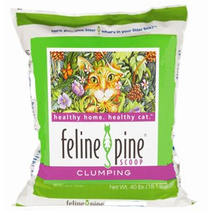 Feline Pine  Scoop Cat Litter, 3.8000-Pound Bags