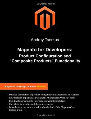 Magento For Developers: Product Configuration And