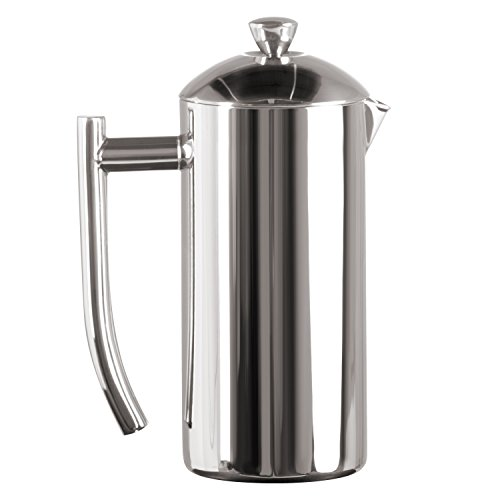 Frieling Polished 18/10 Stainless Steel French Press, 17-Ounce