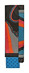 Vidhi Collection Women's Cotton Unstitched Dress Material (Black)