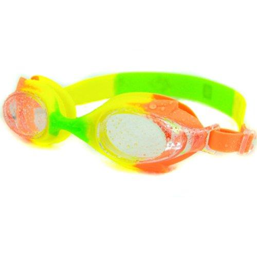 Ispeed Sailor Kid Swim Goggle (Orange/Yellow/Green)