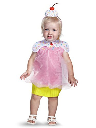 Disguise Infant Girls Cupcake Cutie Costume 12-18 Months