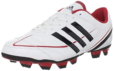 adidas Men's Davicto IV TRX FG Soccer Shoe,Running White/Black/Real Red,8.5 M US
