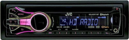 Jvc Kd-Hdr71Bt Cd Receiver, Bluetooth, Hd Radio, Sat Radio Ready, Dual Usb, Works With Pandora