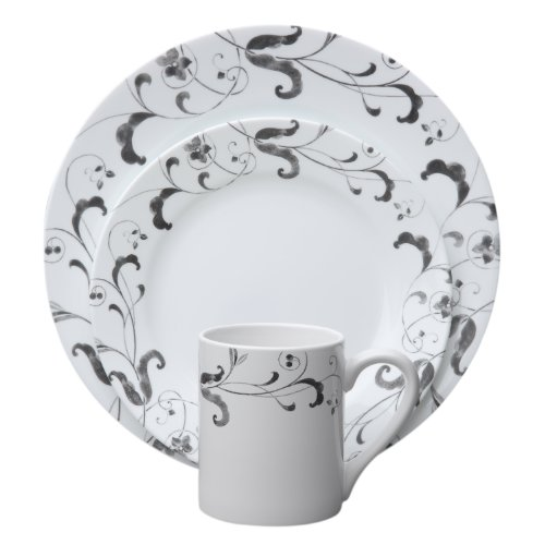 Corelle 16-Piece Impressions Faenza Dinnerware Set