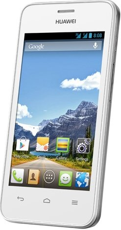 Huawei Ascend Y320 White GSM Unlocked Android Phone