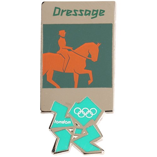 London 2012 Olympics Equestrian Dressage Pin