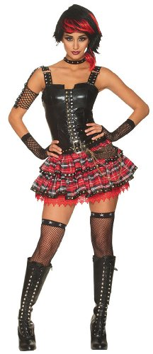 American Punk Girl Adult Costume