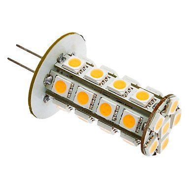 Gy6.35 Gu4 G4 Gy5.3 5W 30X5050Smd 240-280Lm 3000K Warm White Light Led Corn Bulb (12V)