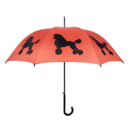 San Francisco Umbrella Co, Red/Black Poodle Umbrella (Umbrella Company compare prices)