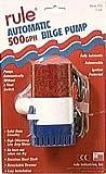 Rule 25S Marine Rule 500 Automatic Marine Bilge Pump (500-GPH, 12-Volt)