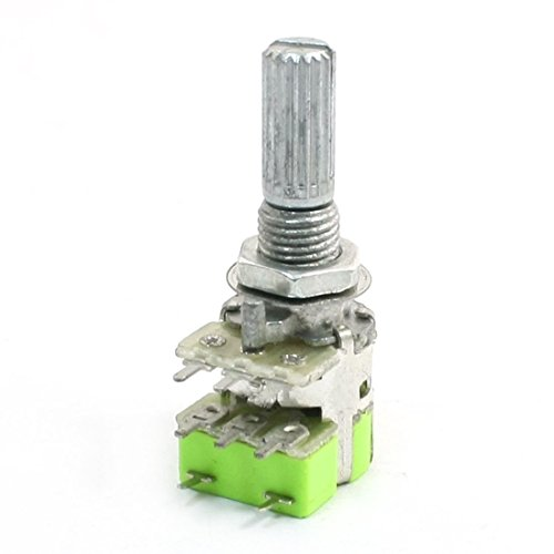 B50K 50K Ohm Dual-Linear Taper Lautstärkeregler Potentiometer Schalter