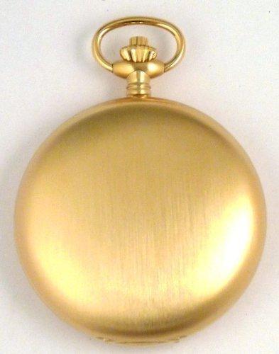 Bernex Swiss Made Large Rhodium Plated Pocket Watch with 17 Jewel Mechanical Movement