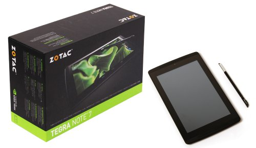 ZOTAC NVIDIA Tegra Note 7 SPセット Slide Cover & 液晶保護フィルム付 [Androidタブレット] 日本正規代理店品 ZT-TN701-10J-AMSPKIT