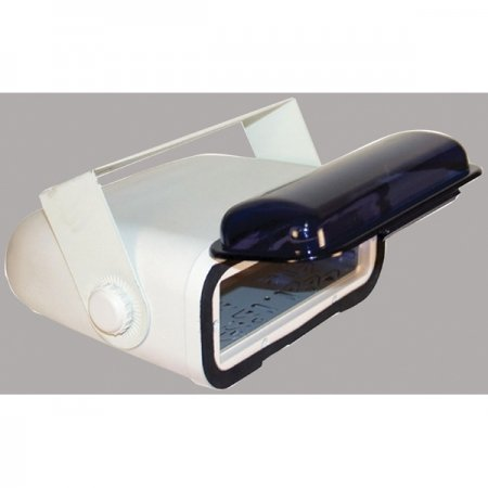 Lowest Prices! PYLE PLMRCW3 White Water Resistant Stereo Housing with Full Chassis Wired Casing