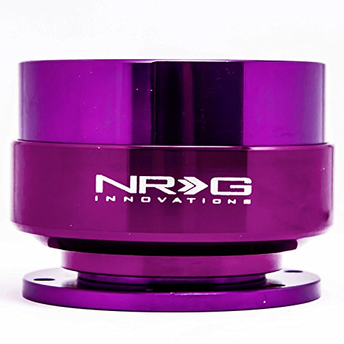 NRG Gen 2.0 Steering Wheel Quick Release Kit Purple Body with Purple Ring SRK-200PP (Nrg Steering Wheels Purple compare prices)