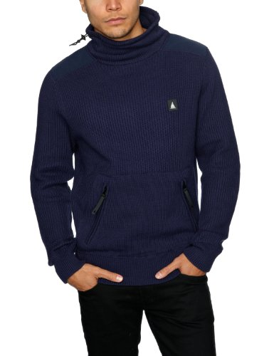 Musto Rogue Funnel Neck Knit Men's Jumper Midnight Ocean Small