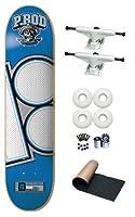 Plan B P.Rod Paul Rodrigues Jersey 7.75 Skateboard Deck Complete White Trucks White Wheels from Plan B