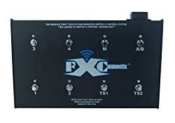 FXConnectx FXCXSP8FC Wireless 8 Channel Pedalboard with Programmable Effects and Amplifier Controller from FXConnectx