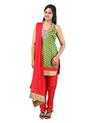 Aneree Women's Cotton Silk Salwar Suit
