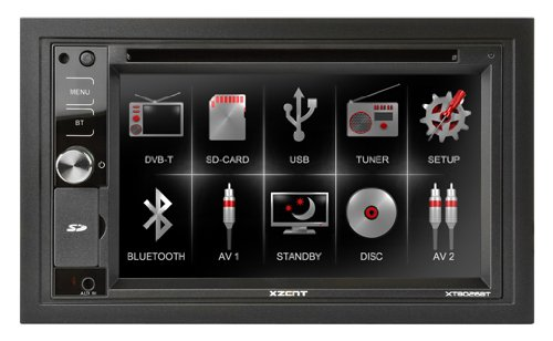 Xzent 2-Din Moniceiver Mit Bluetooth Xt8026Bt